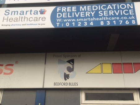 Smarta Healthcare becomes Bedford Blues sponsor for the 2017-2018 season