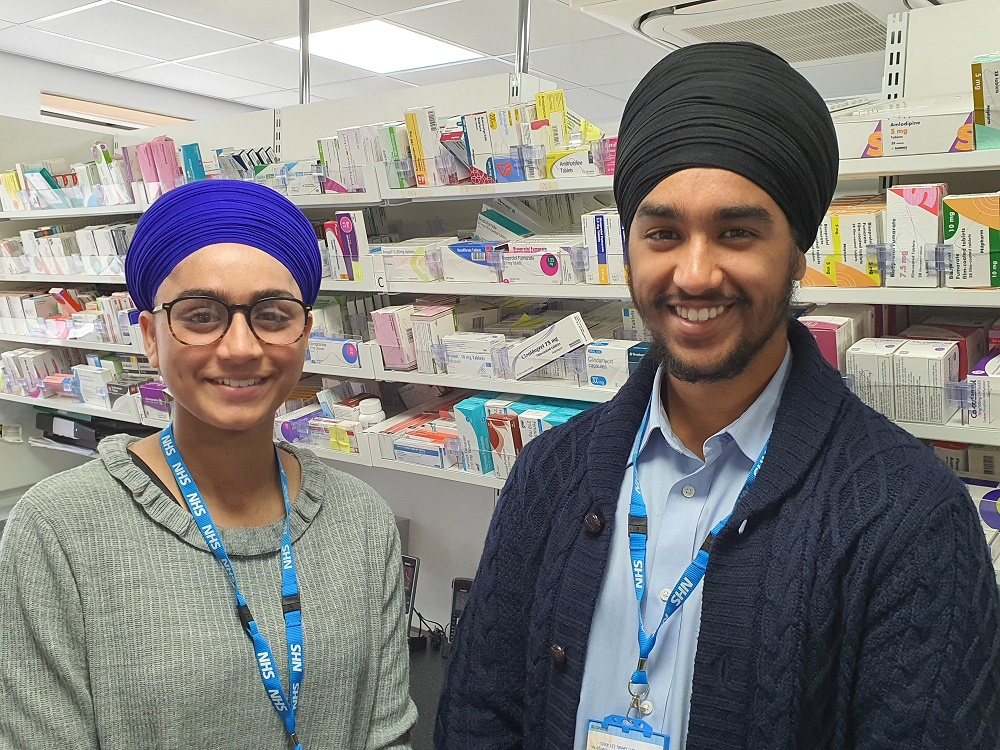 Students join the frontline to help NHS approved pharmacy meet patient demand during the pandemic